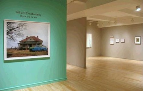 William Christenberry, House and Car and @Pace/MacGill
