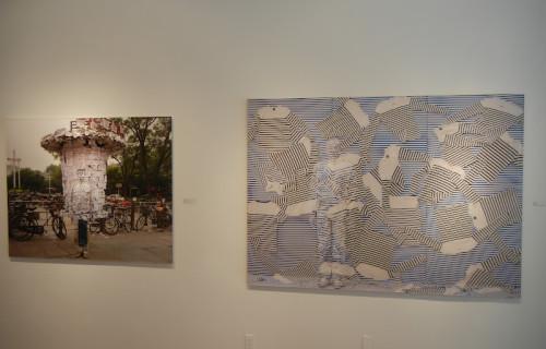 Liu Bolin: Lost in Art @Eli Klein