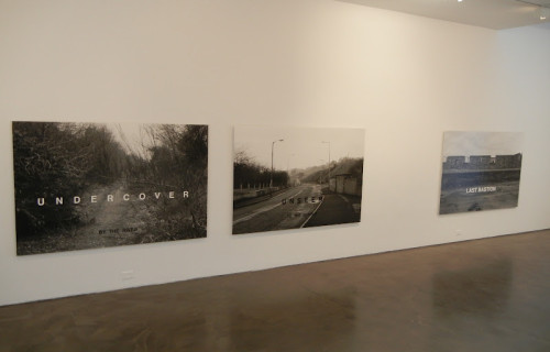 Willie Doherty, One Place Twice, Photo/text/85/92 @Alexander and Bonin