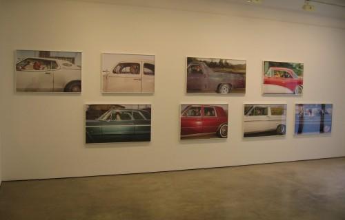 Andrew Bush, Vector Portraits @Yossi Milo