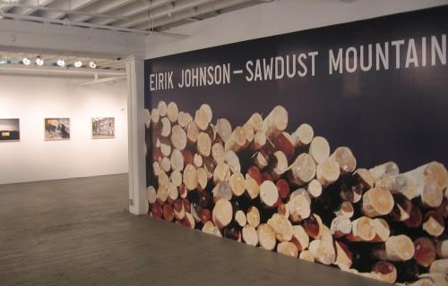 Eirik Johnson: Sawdust Mountain @Aperture