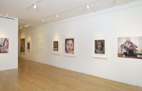 Chuck Close Photo Maquettes @Eykyn Maclean