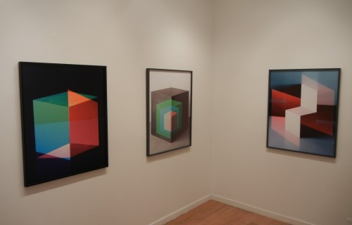 Jessica Eaton, Cubes for Albers and LeWitt @Higher Pictures