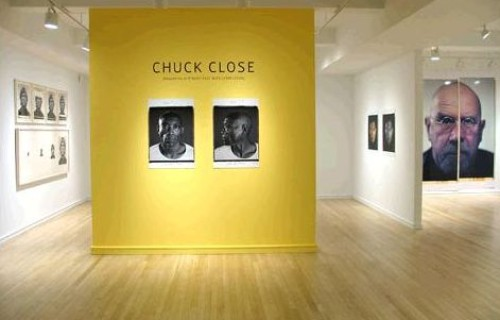 Chuck Close, Maquettes and Multi-Part Work (1966-2009) @Pace/MacGill