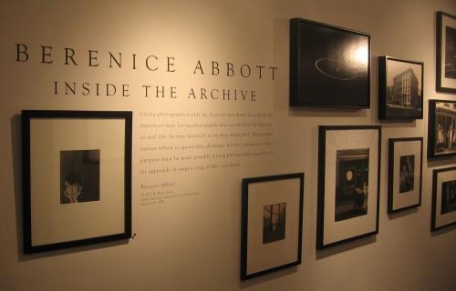 Berenice Abbott, Inside the Archive @Commerce Graphics
