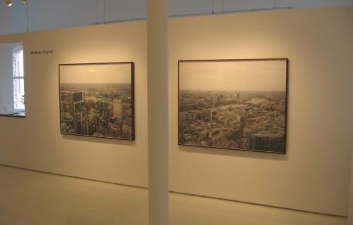 Michael Collins, London Cityscapes @Janet Borden
