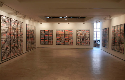 Gilbert & George, London Pictures @Lehmann Maupin and Sonnabend