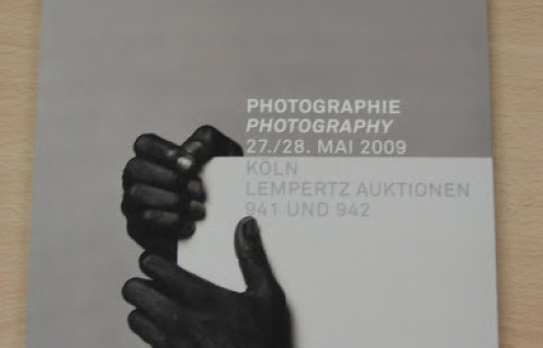 Auction Preview: Photographie, May 27 and 28, 2009 @Lempertz