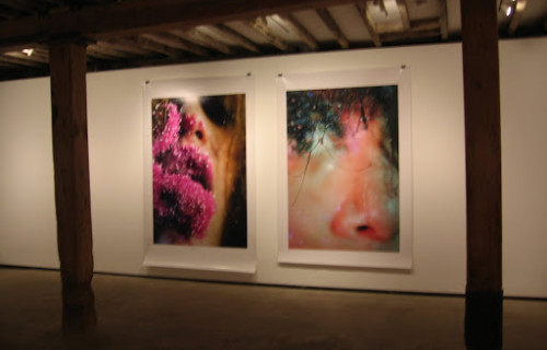 Marilyn Minter, Green Pink Caviar @Salon 94 Freemans