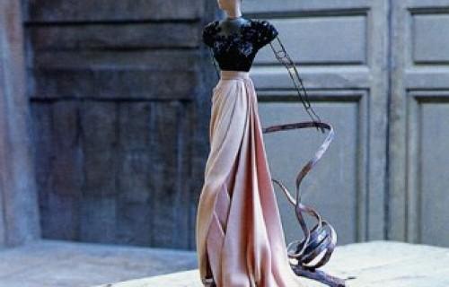 David Seidner: Paris Fashions, 1945 @ICP