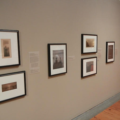 Pictorialist photographs @Portland Museum of Art