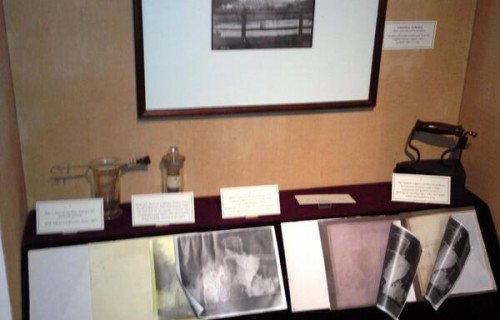 Display Case @Fox Talbot Museum