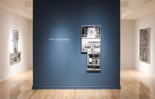 Robert Rauschenberg and Photography @Pace/MacGill