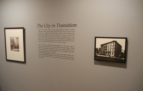 Berenice Abbott & Charles Marville: The City in Transition @Howard Greenberg