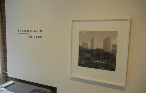 Lauren Henkin, The Park @Foley