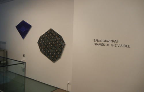 Sanaz Mazinani, Frames of the Visible @Taymour Grahne