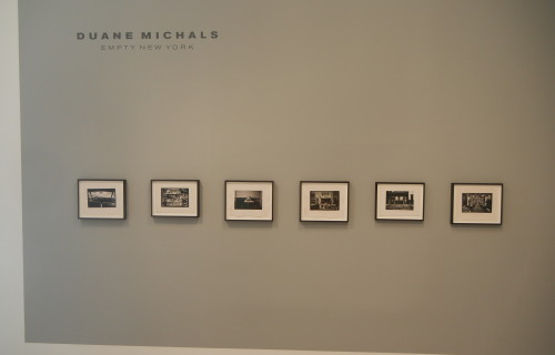 Duane Michals: Empty New York @DC Moore