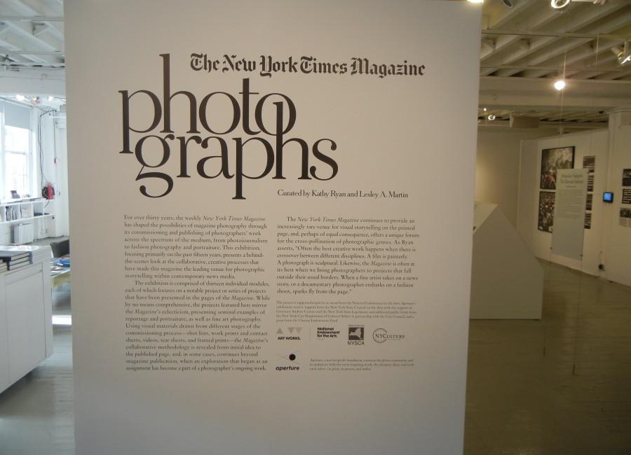 The New York Times Magazine Photographs @Aperture