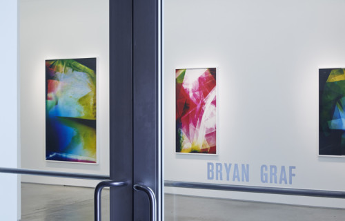 Bryan Graf: Prismatic Tracks @Yancey Richardson