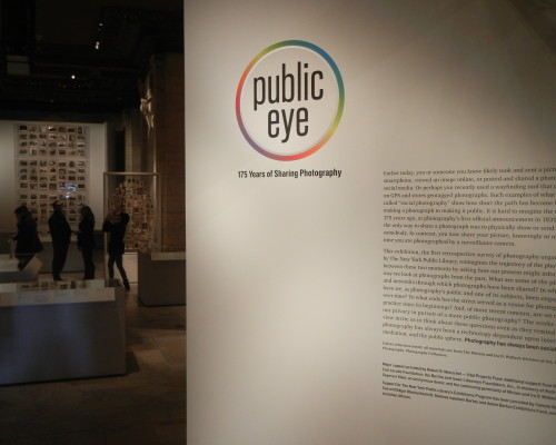 Public Eye: 175 Years of Sharing Photography @New York Public Library