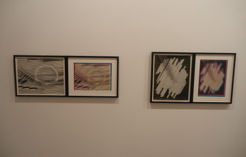 Sheila Pinkel, Folded Paper, Glass Rods, 1974-1982 @Higher Pictures