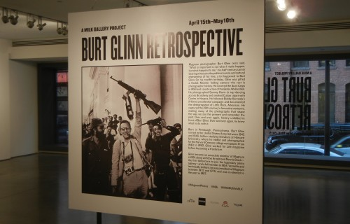 Burt Glinn: Retrospective @Milk Gallery