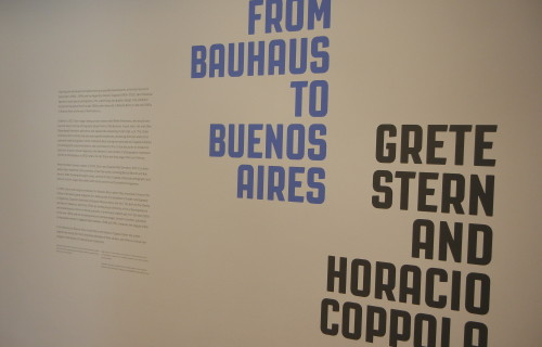 From Bauhaus to Buenos Aires: Grete Stern and Horacio Coppola @MoMA