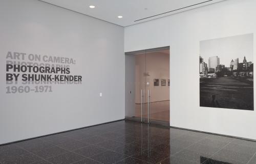 Art on Camera: Photographs by Shunk-Kender, 1960-1971 @MoMA