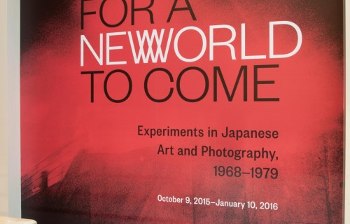 For a New World to Come: Experiments in Japanese Art and Photography, 1968-1979 @Japan Society