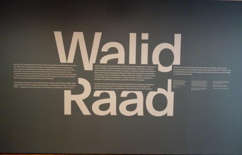 Walid Raad @MoMA