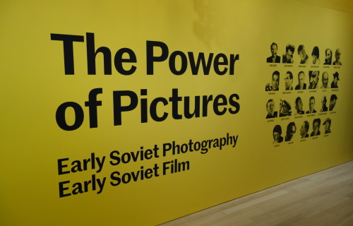 The Power of Pictures: Early Soviet Photography, Early Soviet Film @Jewish Museum