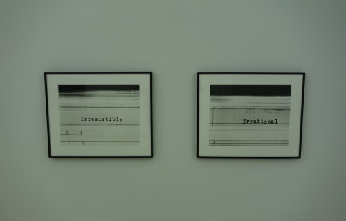 Erica Baum, The Following Information @Bureau
