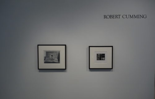 Robert Cumming: Aluminum Cube and Other Photographs @Janet Borden