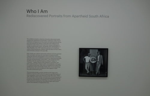 Who I Am: Rediscovered Portraits from Apartheid South Africa @Walther Collection