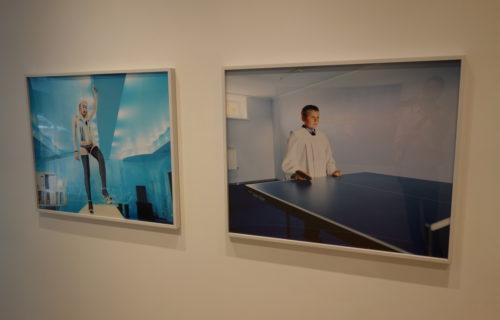Sasha Rudensky: Tinsel and Blue @Sasha Wolf
