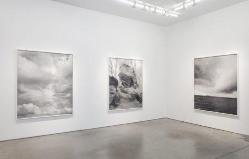 Mitch Epstein, Rocks and Clouds @Yancey Richardson