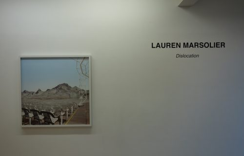 Lauren Marsolier, Dislocation @Galerie Richard