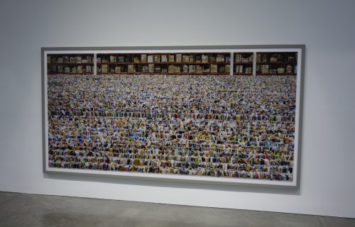 Andreas Gursky, Not Abstract II @Gagosian