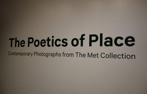 The Poetics of Place @Met