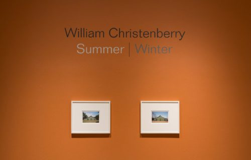 William Christenberry: Summer | Winter @Pace/MacGill