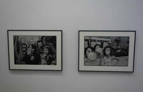 Susan Meiselas, Prince Street Girls, 1976-1979 @Higher Pictures
