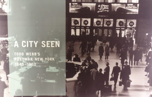 A City Seen: Todd Webb's Postwar New York, 1945-1960 @MCNY