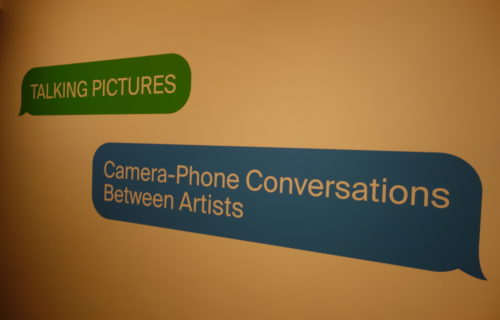 Talking Pictures: Camera-Phone Conversations Between Artists @Met