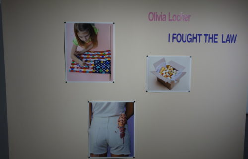 Olivia Locher: I Fought the Law @Steven Kasher