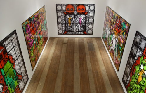 Gilbert & George, THE BEARD PICTURES @Lehmann Maupin