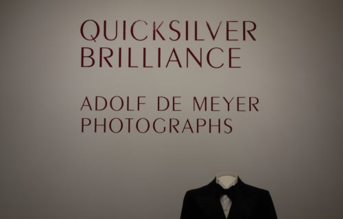 Quicksilver Brilliance: Adolf de Meyer Photographs @Met