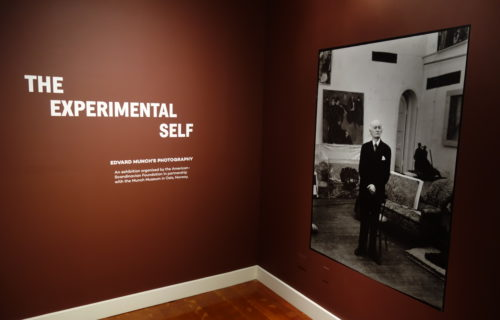 The Experimental Self: Edvard Munch's Photography @Scandinavia House