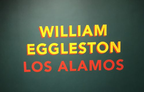 William Eggleston: Los Alamos @Met