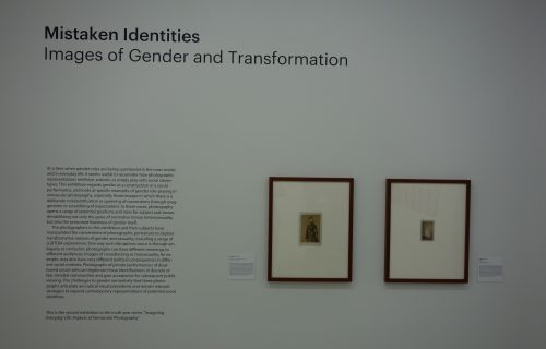 Mistaken Identities, Images of Gender and Transformation @Walther Collection
