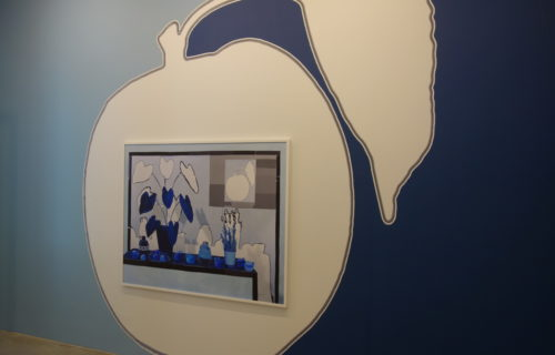 Daniel Gordon, Blue Room @James Fuentes